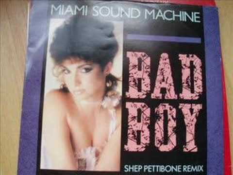 Miami Sound Machine Bad Boy Extended