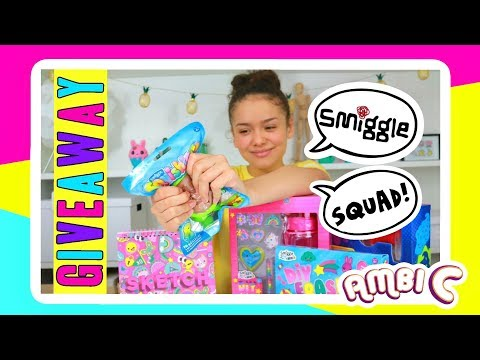 Squishy & Slime Giveaway & Smiggle School Supplies DIY Kits 😍❤️ For the Smiggle  Squad