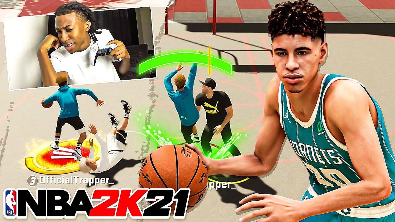 Lamelo Ball ANKLE BREAKERS & Nonstop GREENLIGHTS In NBA 2k21!😰 PS5 Next Gen!