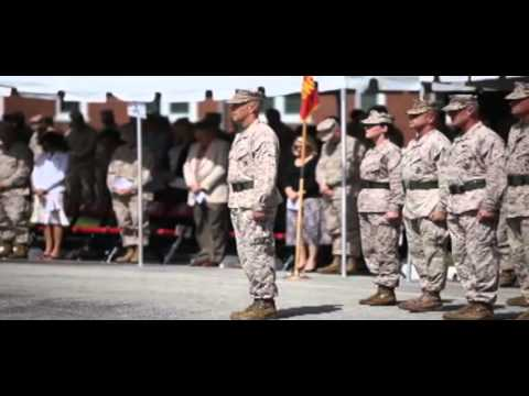 2nd Marine Expeditionary Brigade Presidential Unit Citation Ceremony