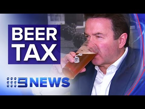 New Tax Increases The Price Of Beer | Nine News Australia