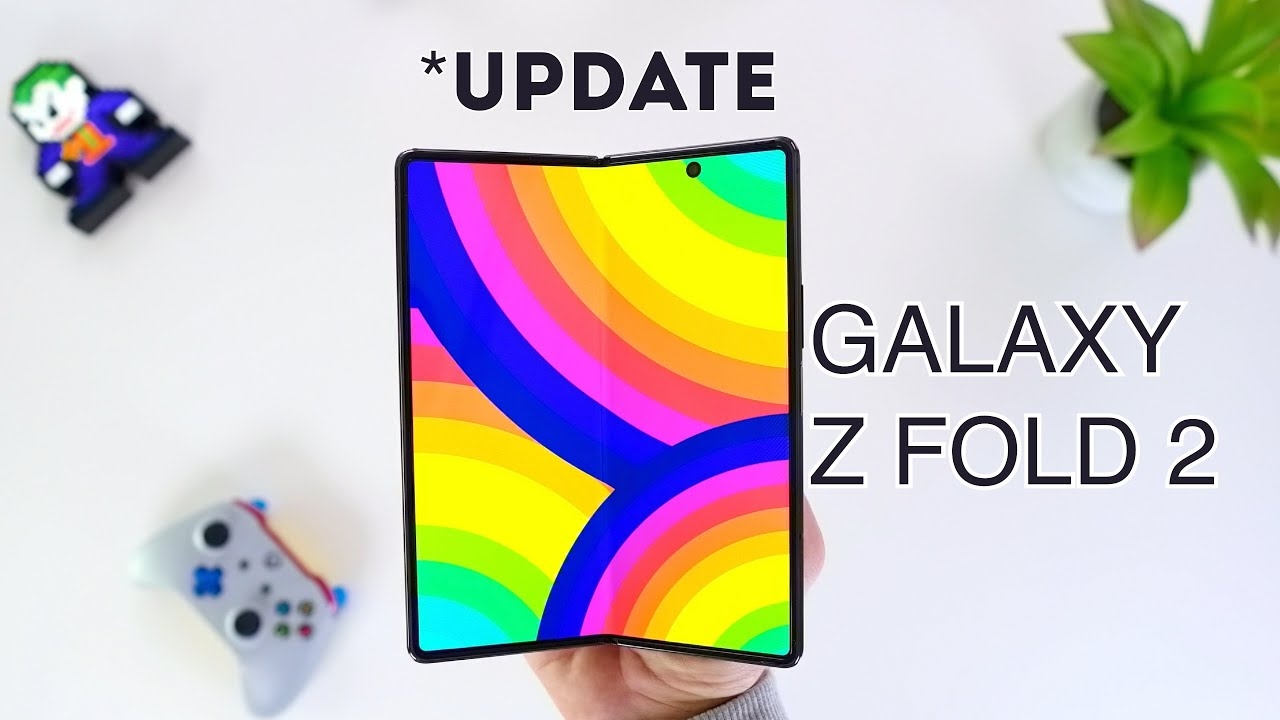 Samsung Galaxy Z Fold 2 ONE UI UPDATE  & REVIEW (incl. Multitasking Tests!)