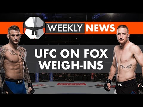 Weekly News Live Chat: UFC On Fox Weigh-Ins, Bellator 197, UFC New TV Deal?, CM Punk vs Jackson