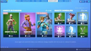 SHOP FORTNITE ITA NEW SKIN ON THE SHOP OF TODAY 16 WEEK SERGENTE FRITTELLA! ITEM SHOP TODAY BAT