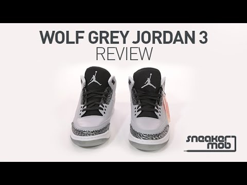 Wolf Grey  Air Jordan 3 Review (Hint  They Suck). HotNewHipHop ca1caf889
