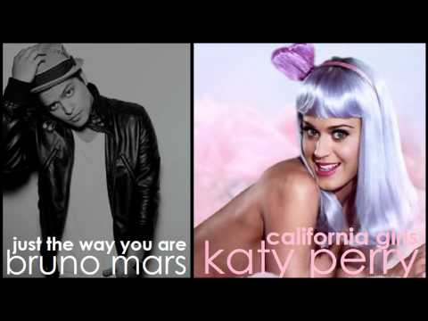Katy Perry vs Bruno Mars - California Girls vs Just the Way You Are