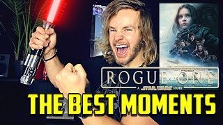 THE BEST MOMENTS In Rogue One: A Star Wars Story  - Movie Review