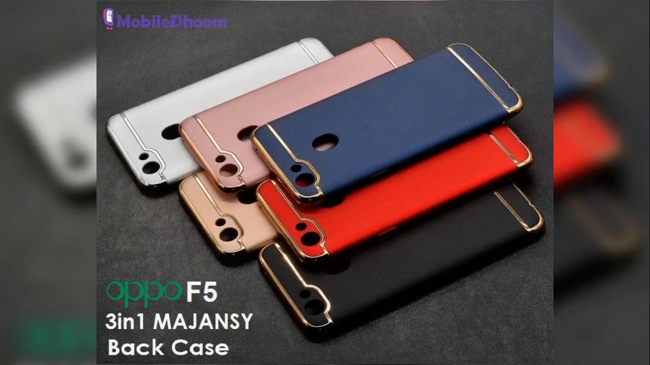 low priced c59cf 96cb0 MAJANSY 3in1 Back Cover Case for Oppo F5