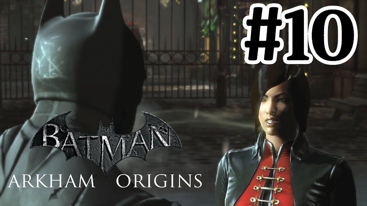Batman Arkham Origins Walkthrough Part 10 Lady Shiva With