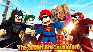 ROBLOX - THE SUPERHERO SIMULATOR!!!