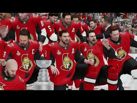 NHL 19 - Ottawa Senators Stanley Cup Celebration