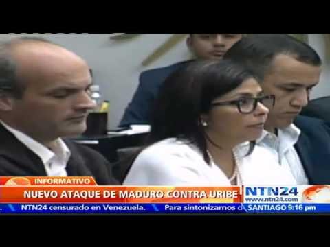 "Maduro dice que Uribe ""no aguanta las ganas"" de enviar ejércitos a Venezuela"