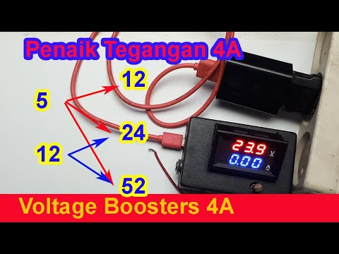 Cara Menaikan Tegangan 5v To 12v 24v 53v Dan 12v To 24v 53v Lab Bench Power Supply Youtube