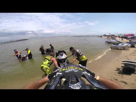 pro watercross tour colonial beach with team KOMMANDER