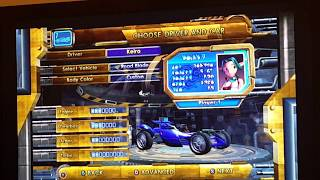 Jak X Combat Racing: Gameplay Keira Hagai Turbo Dash Deathdrome