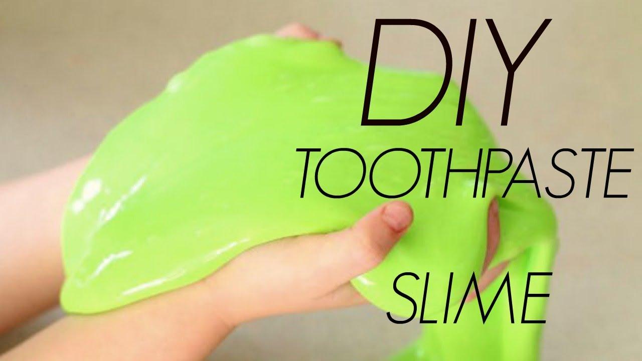 Steps Toothpaste Slime