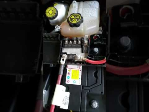 2017 Malibu Remove Battery In Replace