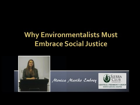 Why Environmentalists Must Embrace Social Justice