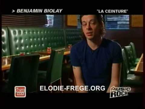 Benjamin Biolay parle de sa collaboration avec Elodie Frege