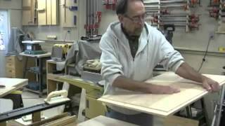 The Down To Earth Woodworker: Shop Desk/bench - Part 3