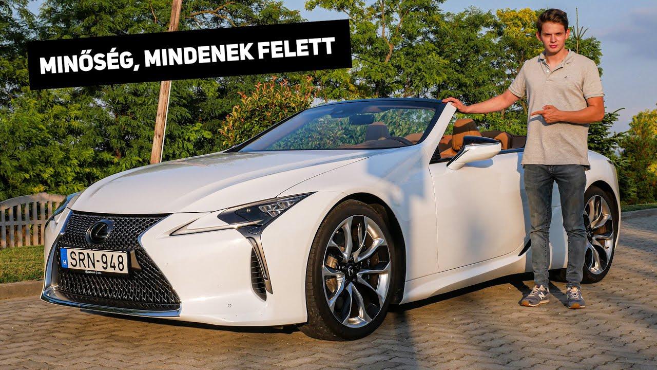 Lexus LC500 V8 teszt - a 40 milliós, félreértett CSODA