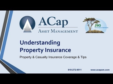 WEBINAR: Understanding Property Insurance