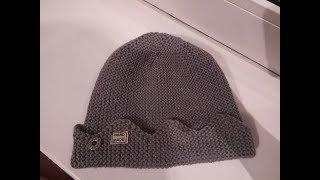 Шапка Джагхеда - идеальный расчет петель. Молодежная шапка для девочек и мальчиков. Дополнение к МК.
