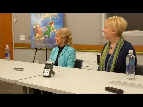 Kathryn Beaumont Talks Voicing Wendy in Peter Pan