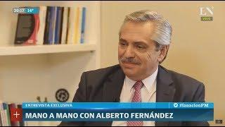 Alberto Fernández le responde a Cristina: