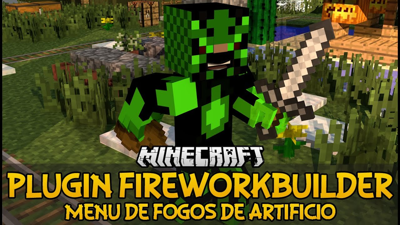minecraft custom fireworks maker