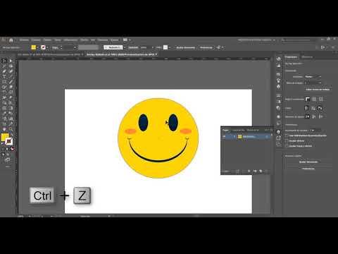 Tutorial de Illustrator CC 2019 para Sublimación | Video 2: Bordes, rellenos. Ordenar objetos. Capas thumbnail