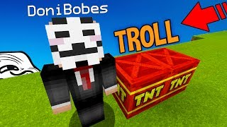 PRETENDING TO HACK OWNER ACCOUNT TROLL (Minecraft Trolling)