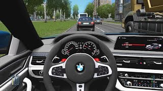 City Car Driving - BMW M5 F90 | Fast Driving