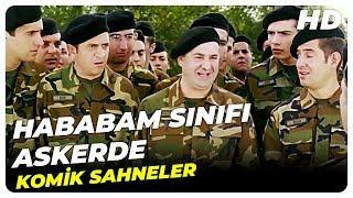 HABABAM SINIFI ASKERDE | Komik Sahneler