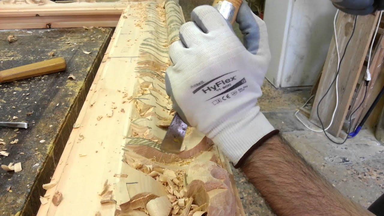 Riproduzione di cornici antiche intagliate su legno youtube for Foto di case antiche