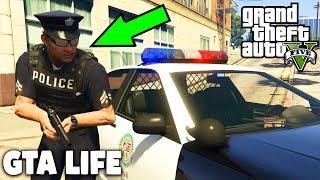 GTA LIFE ALS POLIZIST! - POLIZEI - GTA 5 Deutsch   ROLEPLAY MOD SERVER