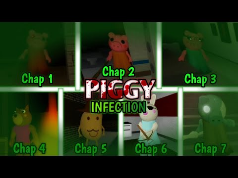 Roblox | Piggy - All Chapters Infection Mode!