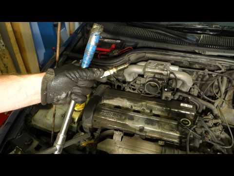 How to replace Ford Zetec engine spark plugs. Years 1992 to 2004