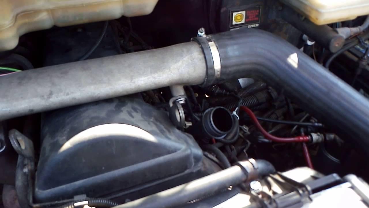 Работа двигателя  Iveco Daily