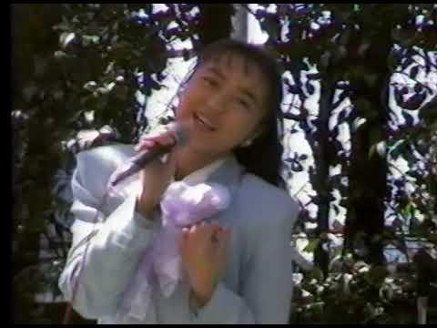19890319島田奈美ミニコンサートとサイン会(銀座三越)