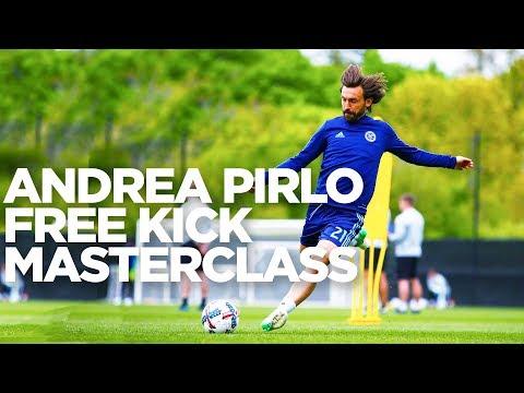 Andrea Pirlo Free Kick Masterclass   INSIDE TRAINING