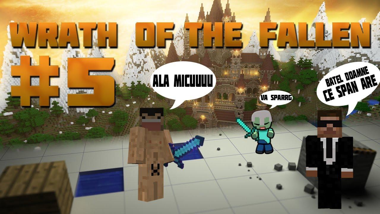 Minecraft : Aventurile gusterilor! - Wrath of the Fallen Ep.5 - Strategi de echipa - Minecraft : Aventurile gusterilor! - Wrath of the Fallen Ep.5 - Strategi de echipa