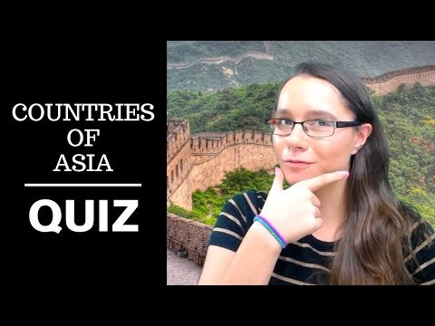 Countries of Asia Map Quiz on north america map quiz countries, asia map test, asia map numbered, asia countries test, europe map quiz countries,