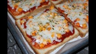 طريقة تحضير البيتزا السريعة بدون عجين بأربع مكونات فقط
