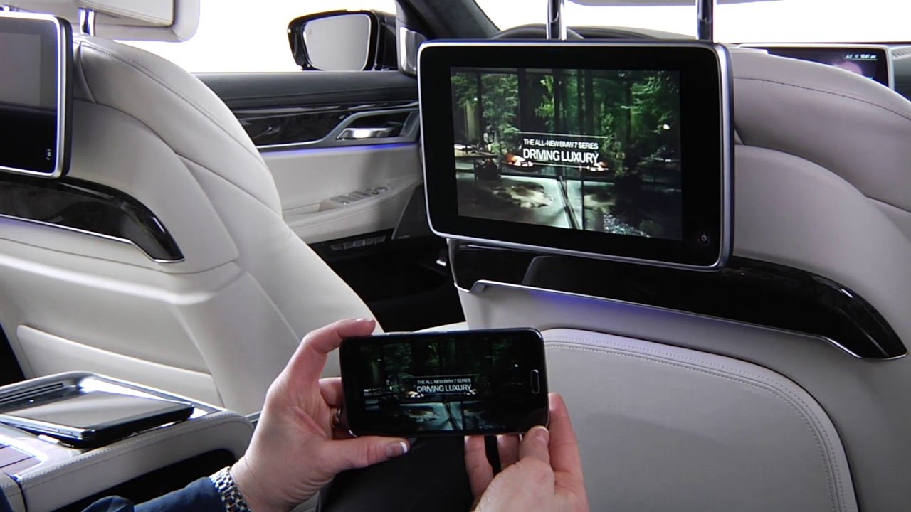Mirror Your Phone In Rear Seat Entertainment Bmw Genius