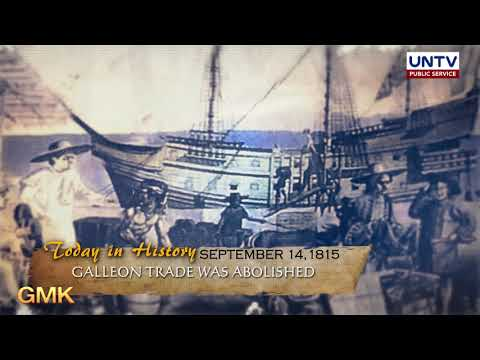 Philippines And Mexico's Galleon Trade Ended In 1815 | Today In History