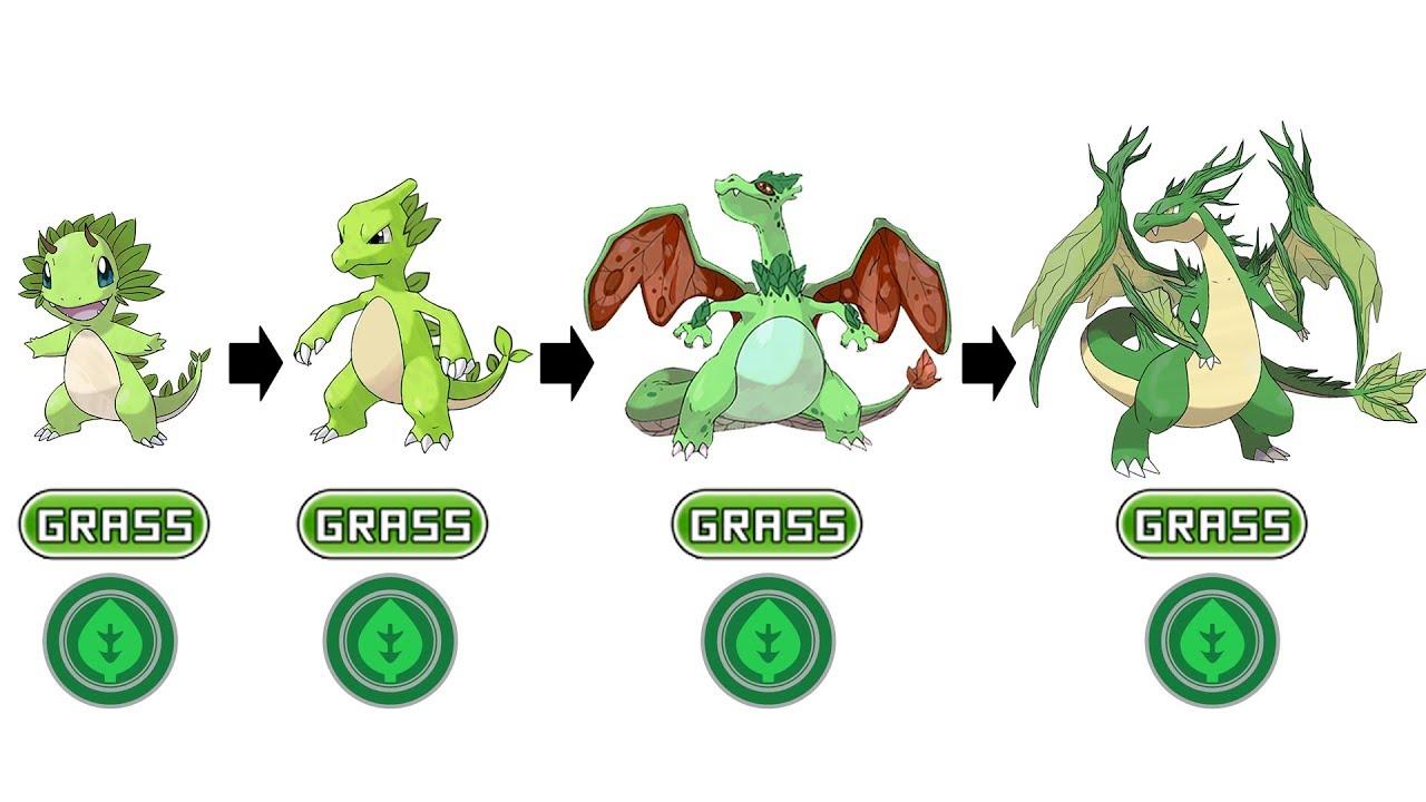 pokemon grass green