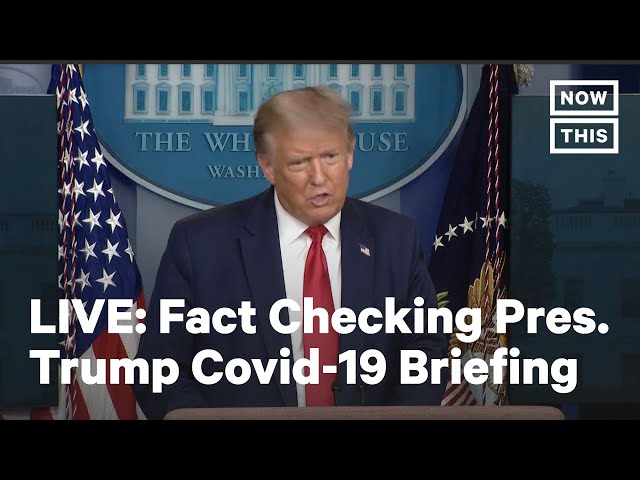 Fact Checking Pres. Trump Press Conference | LIVE | NowThis