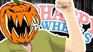 HALLOWEEN SPOOKS!! | Happy Wheels