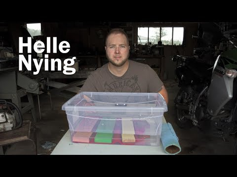 Helle Nying - DO NOT USE THIS TO SHARPEN YOUR KNIVES